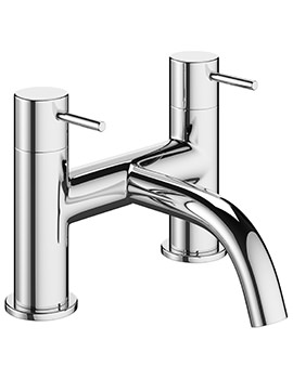 Crosswater Mike Pro Chrome Deck Mounted Bath Filler Tap