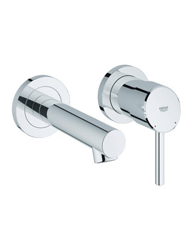 Grohe Concetto Wall Mounted 2 Hole Basin Mixer Tap