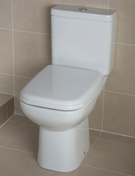RAK Origin 62 Close Coupled WC Pack With Soft Close Seat 620mm
