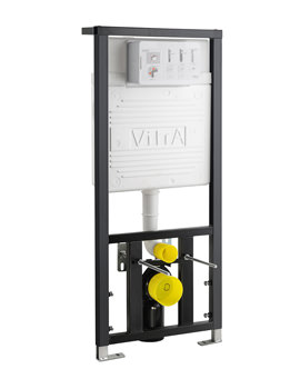 VitrA 12cm Floor And Wall Fixation Regular Frame With Cistern