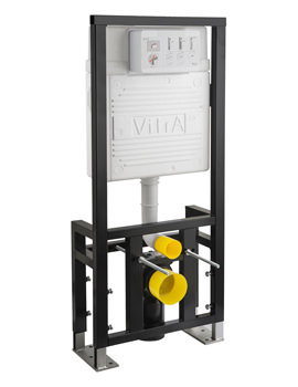 VitrA 12cm Floor Fixation WC Frame With 2.5-4 Litre Cistern