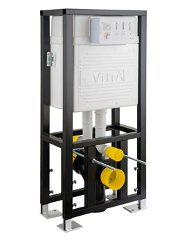 VitrA 12cm Double Floor Fixation WC Frame With 2.5-4 Litre Cistern