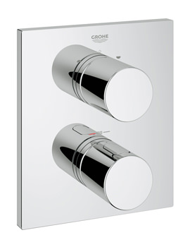 Grohe Grohtherm 3000 Cosmo Thermostatic 2-Way Diverter Bath Shower Trim