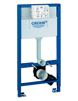 Grohe Rapid SL 1.0m High Wall Hung WC Frame And Cistern