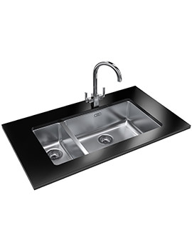 Franke Kubus KBX 160 55-20 Designer Pack - Stainless Steel Sink And Tap