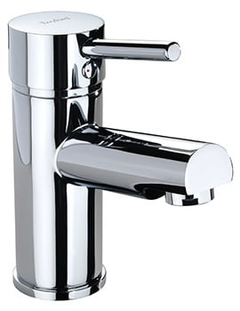 Twyford X60 Mono Basin Mixer Tap With Click Clack Waste