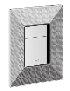 Grohe Skate Black Graphics Cosmopolitan WC Wall Plate