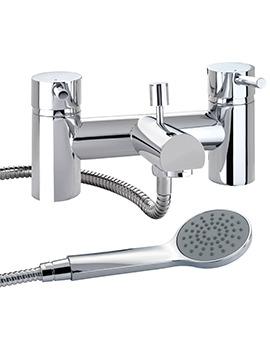 Twyford X60 Deck Mounted Bath Shower Mixer Tap