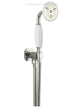 Crosswater Belgravia Wall Mounted Nickel Shower Kit - HG964N