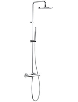 Crosswater Design Shower Kit With Thermostatic Shower Valve