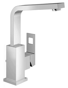 Grohe Eurocube Single Lever Basin Mixer Tap With Pop Up Waste