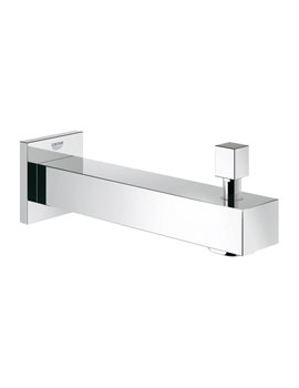 Grohe Eurocube Wall Mounted Bath Spout With Diverter