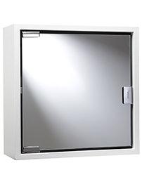 Croydex White Steel Single Door Cabinet