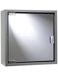 Croydex Anthracite Steel Single Door Cabinet