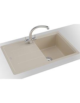 Franke Basis Propack BFG 611-780 Fragranite Coffee Kitchen Sink And Tap