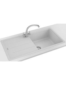Franke Basis BFG 611-970 Propack - Fragranite White Sink And Tap