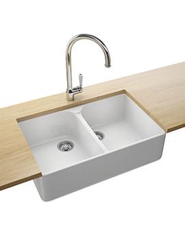 Franke Belfast VBK 720 Designer Pack - Ceramic 2.0 Bowl Sink And Tap