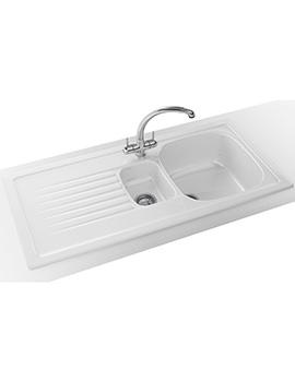 Franke Elba ELK 651 Propack - Ceramic White Sink And Tap