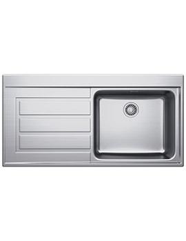 Franke Epos EOX 611 Stainless Steel Left Hand Drainer Inset Sink