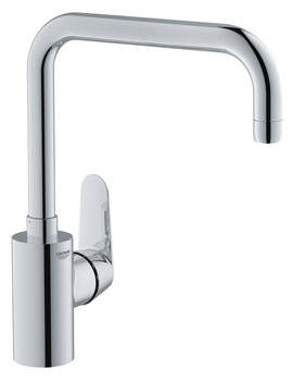 Grohe Eurodisc High Spout Cosmopolitan Sink Mixer Tap Chrome