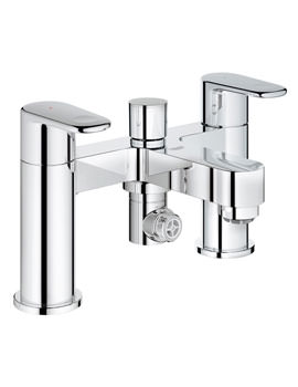 Grohe Europlus Deck Mounted Bath Shower Mixer Tap Chrome