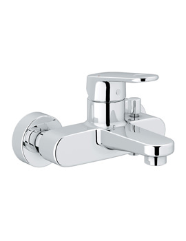 Grohe Europlus Single Lever Chrome Bath Shower Mixer Tap