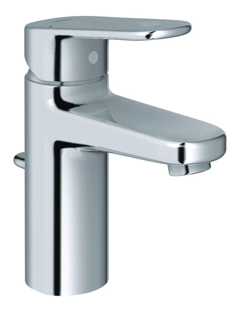 grohe europlus monobloc basin mixer tap with pop up waste. Black Bedroom Furniture Sets. Home Design Ideas
