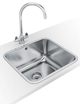 Franke Utility 50 UTX 610 DP - Stainless Steel Inset Sink And Tap