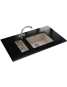 Franke Sirius SID 110 16 + 110 50 Propack-Tectonite Coffee Sink And Tap