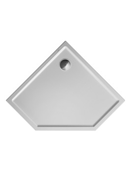 Duravit Starck Slimline Pentagon Shower Tray 900 x 900mm
