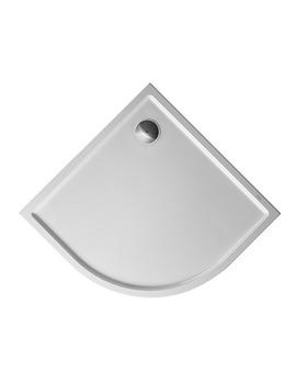 Duravit Starck Slimline Quarter Circle Shower Tray 900 x 900mm