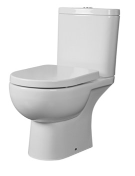Essential Lily BTW Close Coupled Pan And Cistern Pack - White