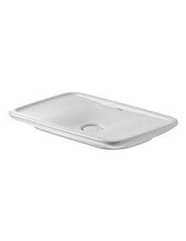 Duravit Puravida White 700 x 420mm Grinded Washbowl