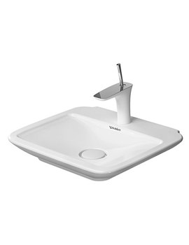 Duravit PuraVida 1TH Furniture Handrinse Basin 500 x 420mm - EX Display