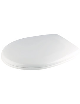 Croydex Towan Soft Close Urea Toilet Seat White