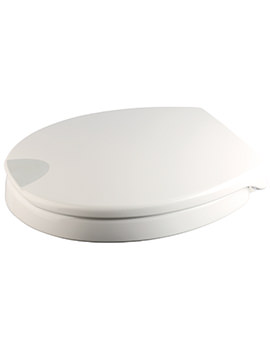 Croydex Raised Toilet Seat White