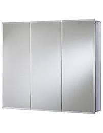 Croydex Westbourne Triple Door Tri-View Cabinet 914 x 762mm