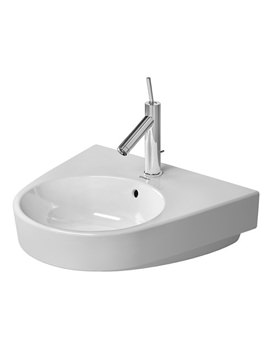Duravit Starck 2 White 550mm 1 Tap Hole Washbasin With overflow