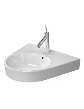 Duravit Starck 2 600mm 1 Tap Hole Grinded Washbasin With overflow