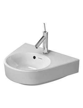 Duravit Starck 2 500mm 1 Tap Hole Handrinse Basin With Overflow