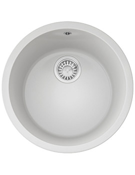 Franke Rotondo RBG 610 Fragranite Polar White Inset Sink