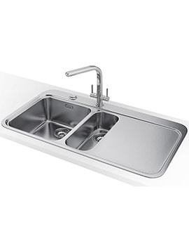 Franke Sinos SNX 251 DP - Stainless Steel 1.5 Bowl RHD Sink And Tap