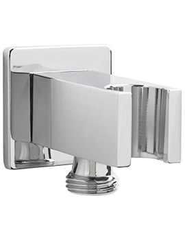 Sagittarius Cube Wall Mounted Shower Outlet With Handset Bracket