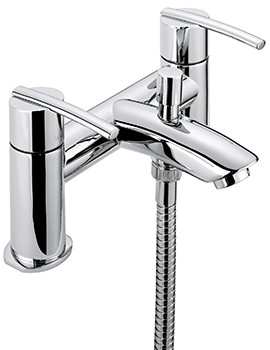 Sagittarius Pure Deck Mounted Bath Shower Mixer Tap With No.1 Kit