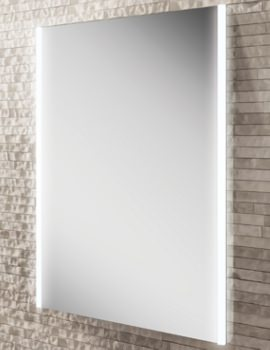HIB Zircon LED Illuminated Bathroom Mirror 500 x 700mm