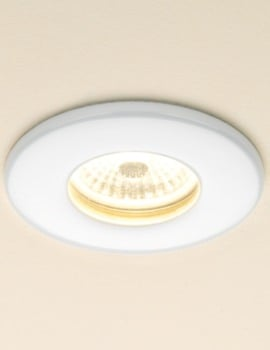 HIB Infuse Warm White Fire Rated LED Showerlight White