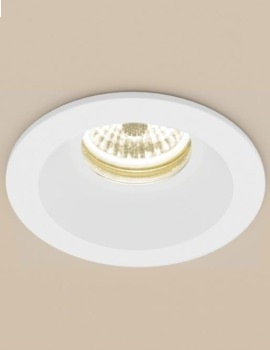HIB Calibre Round Warm White LED Showerlight