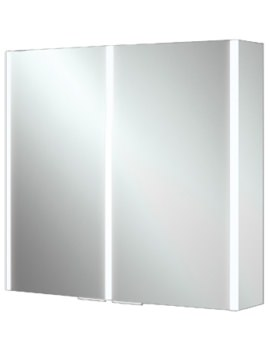 HIB Xenon 80 Double Door Aluminium Cabinet With LED Illumination