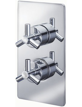 Sagittarius Zone Concealed Thermostatic Shower Valve With 2 Way Diverter