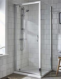 Lauren Ella 800 x 1850mm Pivot Shower Door